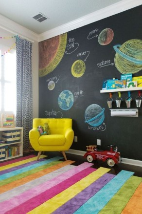 Awesome Child's Room Ideas With Wall Decoration 33