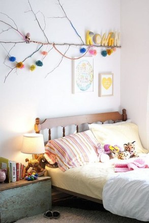 Awesome Child's Room Ideas With Wall Decoration 36