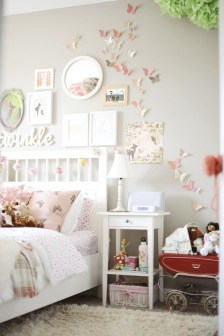 Awesome Child's Room Ideas With Wall Decoration 50