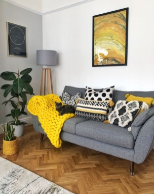 Cute Monochrome Living Room Decoration You Must Have 09