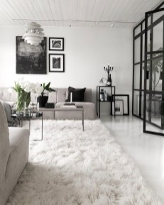 Cute Monochrome Living Room Decoration You Must Have 22