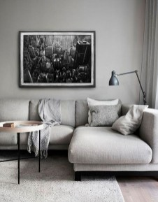 Cute Monochrome Living Room Decoration You Must Have 23