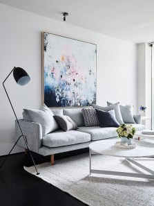 Cute Monochrome Living Room Decoration You Must Have 31