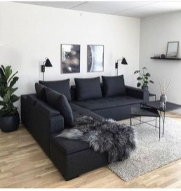 Cute Monochrome Living Room Decoration You Must Have 39