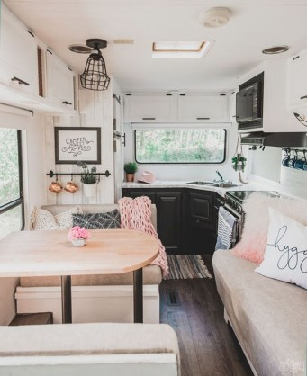 Fabulous RV Renovation Ideas To Make A Happy Campers 09