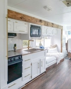 Fabulous RV Renovation Ideas To Make A Happy Campers 14