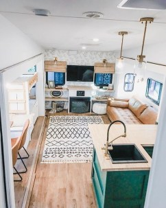 Fabulous RV Renovation Ideas To Make A Happy Campers 21