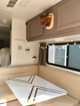 Fabulous RV Renovation Ideas To Make A Happy Campers 24