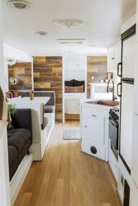 Fabulous RV Renovation Ideas To Make A Happy Campers 31