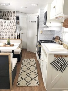 Fabulous RV Renovation Ideas To Make A Happy Campers 39
