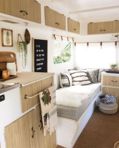 Fabulous RV Renovation Ideas To Make A Happy Campers 41