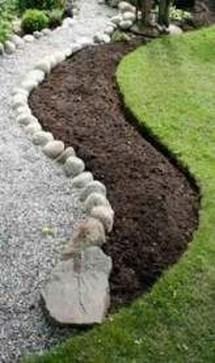 Marvelous Garden Border Ideas To Dress Up Your Landscape Edging 46
