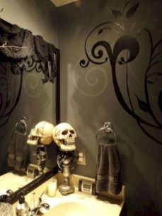 Scary Halloween Decorating Ideas For Your Bathroom 11