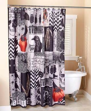 Scary Halloween Decorating Ideas For Your Bathroom 26