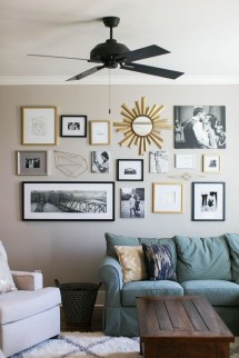 Trendy Living Room Wall Gallery Design Ideas 01
