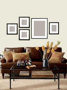 Trendy Living Room Wall Gallery Design Ideas 08