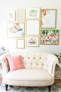 Trendy Living Room Wall Gallery Design Ideas 10