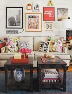 Trendy Living Room Wall Gallery Design Ideas 12