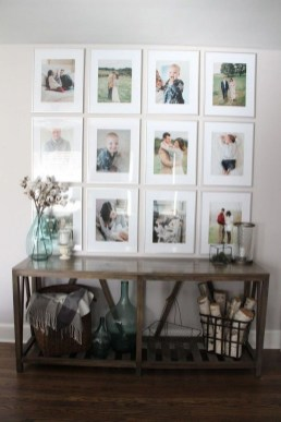 Trendy Living Room Wall Gallery Design Ideas 24