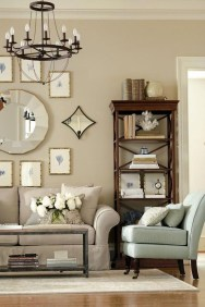 Trendy Living Room Wall Gallery Design Ideas 37