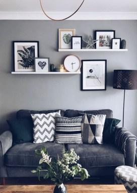 Trendy Living Room Wall Gallery Design Ideas 45