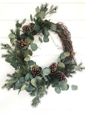Beautiful DIY Winter Wreath To Place It On Your Door 27