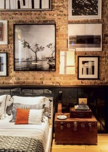 Modern Style For Industrial Bedroom Design Ideas 02