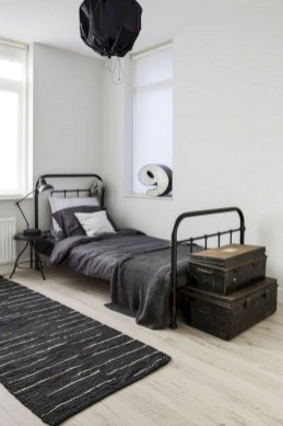 Modern Style For Industrial Bedroom Design Ideas 08