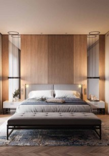 Modern Style For Industrial Bedroom Design Ideas 32