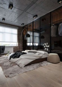 Modern Style For Industrial Bedroom Design Ideas 46