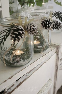 Outstanding Winter Decoration Ideas For Your Apartment 07