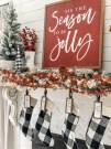 Absolutely Stunning Christmas Mantel Decorating Ideas 25