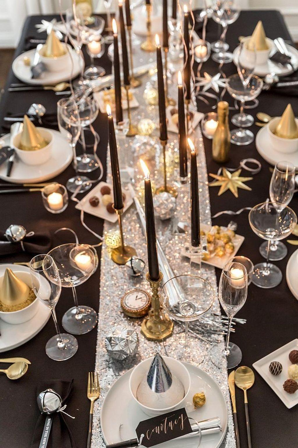 30+ Glamorous New Year\u0027s Eve Party Decor Ideas , LOVAHOMY