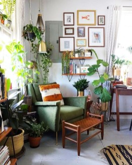 Pretty House Plants Ideas For Living Room Decoration 18