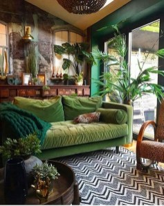 Pretty House Plants Ideas For Living Room Decoration 29