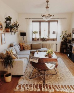 Pretty House Plants Ideas For Living Room Decoration 39