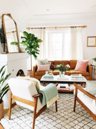 Pretty House Plants Ideas For Living Room Decoration 51