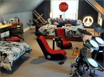 Adorable Teenage Boy Room Decor Ideas For You 21