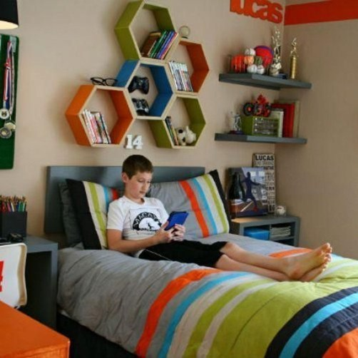 Adorable Teenage Boy Room Decor Ideas For You 49