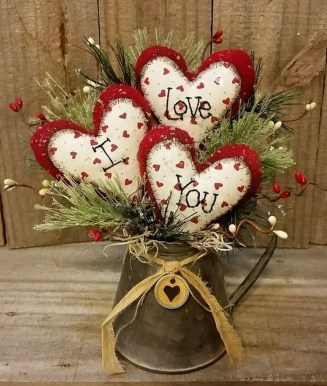 Affordable Valentine's Day Shabby Chic Decorations On A Budget 08