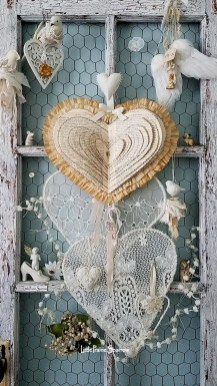 Affordable Valentine's Day Shabby Chic Decorations On A Budget 09