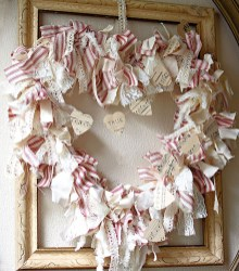 Affordable Valentine's Day Shabby Chic Decorations On A Budget 47