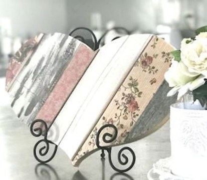 Affordable Valentine's Day Shabby Chic Decorations On A Budget 52