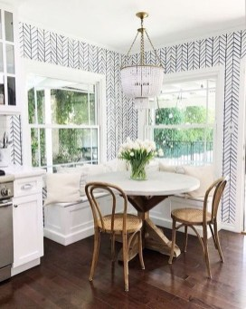 Amazing Small Dining Room Table Decor Ideas To Copy Asap 46