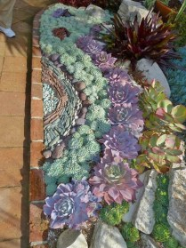 Awesome Succulent Garden Ideas In Your Backyard 30