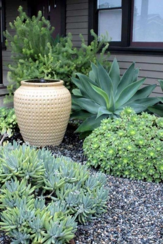Awesome Succulent Garden Ideas In Your Backyard 49