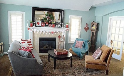 Best Valentines Day Mantel Decor Ideas That You Will Falling In Love With 15