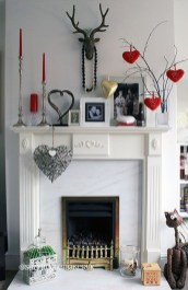 Best Valentines Day Mantel Decor Ideas That You Will Falling In Love With 23