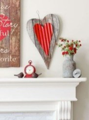 Best Valentines Day Mantel Decor Ideas That You Will Falling In Love With 31