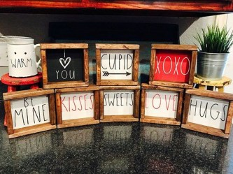 Creative DIY Valentines Day Decoration Ideas To Beautify Your Home 41